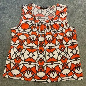 Evan-Picone sleeveless blouse